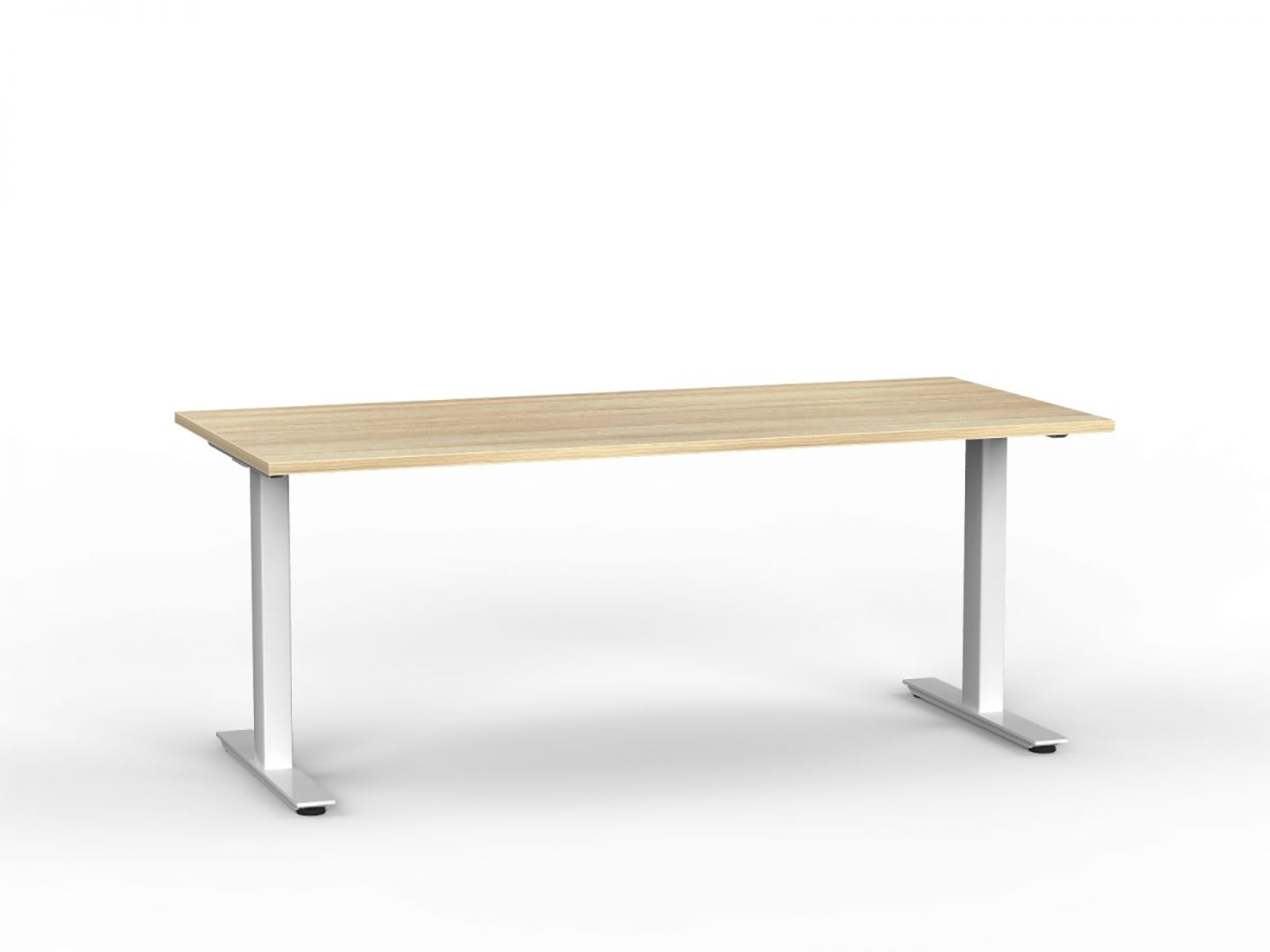 Agile White Fixed 1.8m Desk