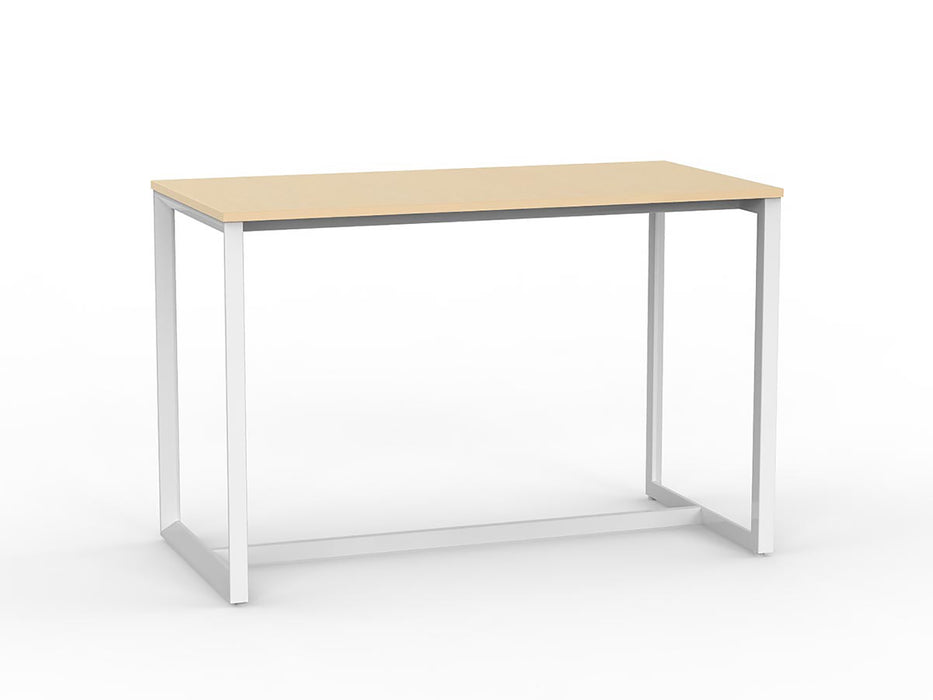 Anvil White 1.6m Bar Leaner - Workspace Furniture Home and Office Bar Leaners