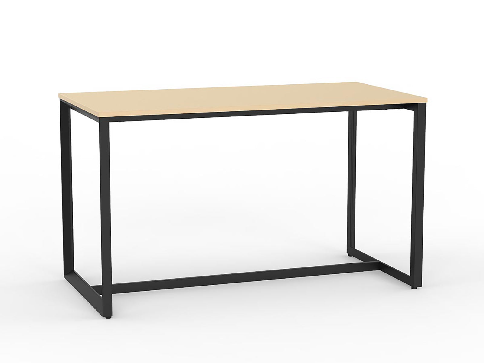 Anvil Black 1.8m Bar Leaner - Workspace Furniture Home and Office Cafe Tables