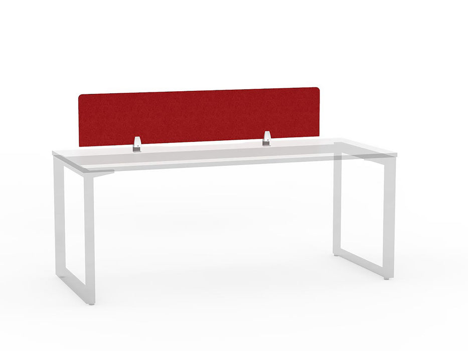 E-panel Single Side Desk Screen  - Workspace Furniture Home and Office Desktop Mounted Partitions