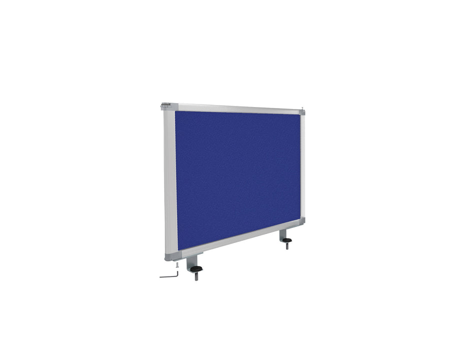 Boyd Desk Screen 56cm - Workspace Furniture Home and Office Desktop Mounted Partitions