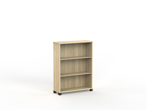 Cubit Black Detail 1.2m Bookcase - Workspace Furniture Home and Office Cupboards and Shelves