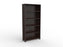 Cubit Black Detail 1.8m Bookcase - Workspace Furniture Home and Office Cupboards and Shelves