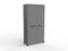 Cubit Black Detail 1.8m Cupboard - Workspace Furniture Home and Office Cupboards and Shelves