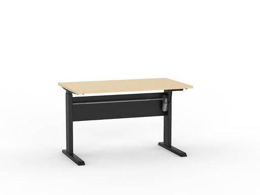 Cubit Black Electric Height Adjustable 1.2m Desk