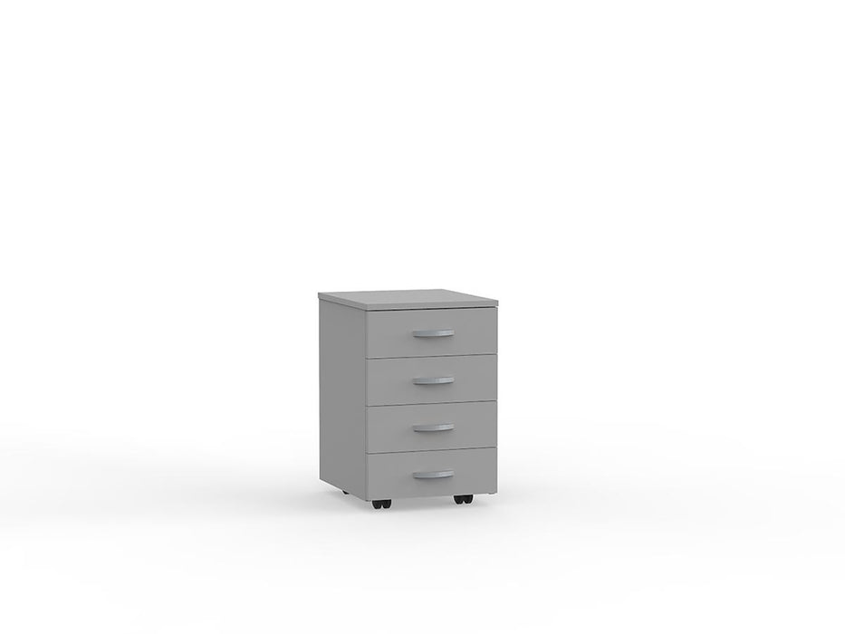 Eko 4 Draw Mobile - Workspace Furniture Home and Office Drawers