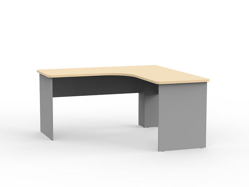 Eko 1.5m Workstation - Workspace Furniture Home and Office Desks