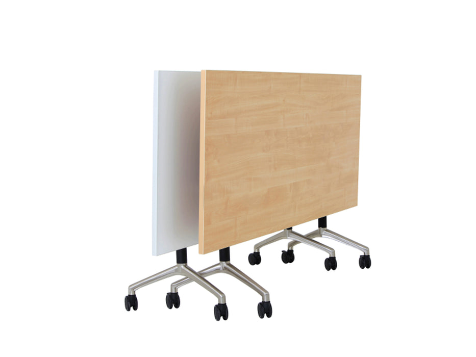 Europlan 1.8m Flip Table - Workspace Furniture Home and Office Meeting Tables
