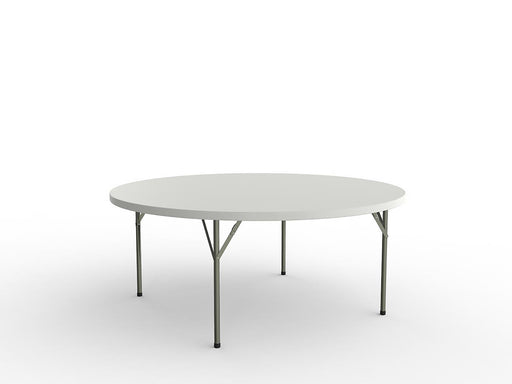 Life Folding 1.8m Round Table - Workspace Furniture Home and Office Cafe Tables