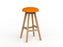 Luna Button Barstool - Workspace Furniture Home and Office Bar Stools