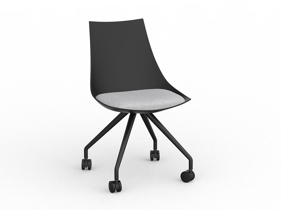 Luna Castor Chair - Workspace Furniture Home and Office Cafe Chairs