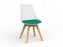 Luna Oak Chair - Workspace Furniture Home and Office Cafe Chairs