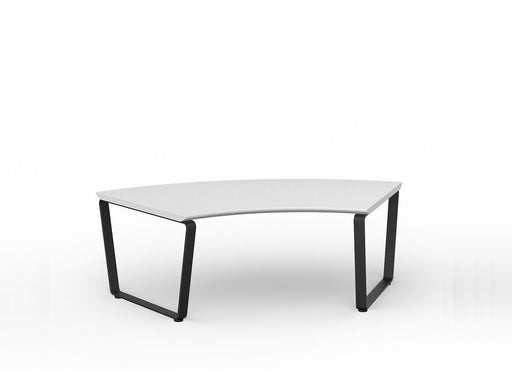 Loop Curved 123cm Coffee Table - Workspace Furniture Home and Office Coffee Tables