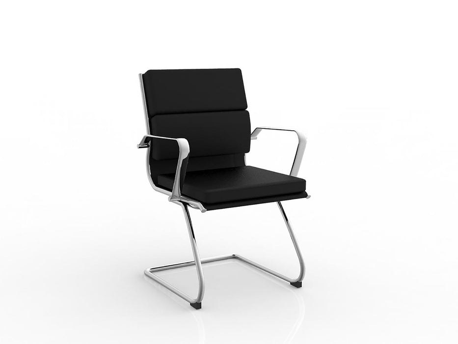 Moda Visitor Chair - Workspace Furniture Home and Office Conference Chairs