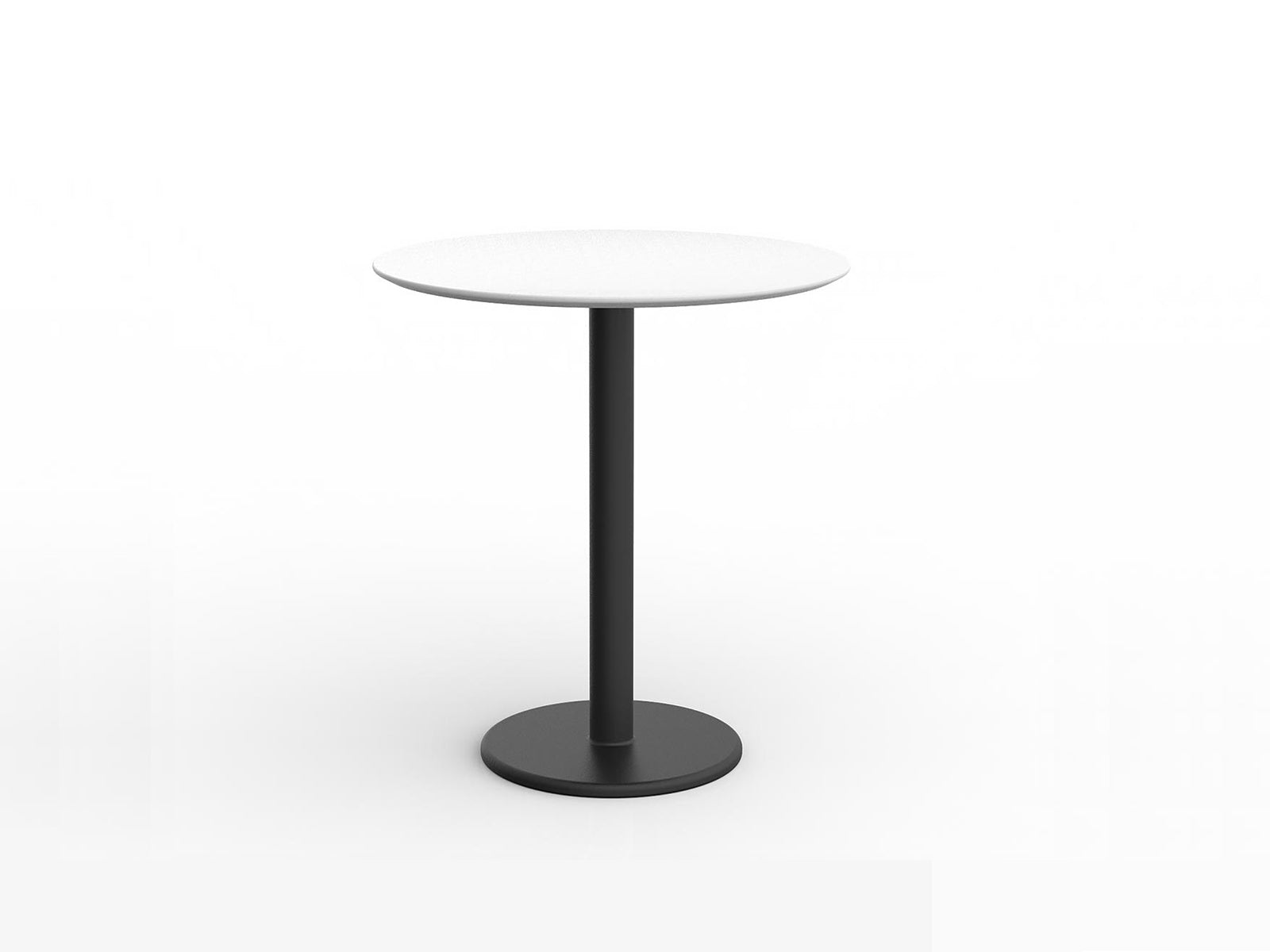 Loop Round 105cm Standing Table - Workspace Furniture Home and Office Bar Leaners