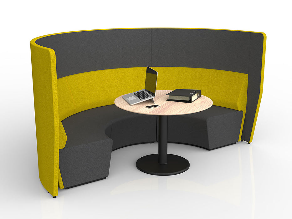 Motion Loop Arc 3 with Mid Backrest - Workspace Furniture Home and Office Soft Seating and Ottomans