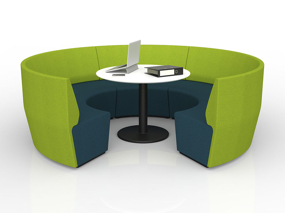 Motion Loop Arc 5 - Workspace Furniture Home and Office Soft Seating and Ottomans