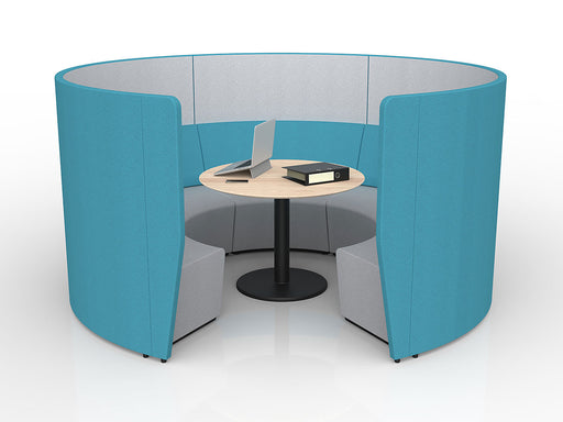Motion Loop Arc 5 with Mid Backrest - Workspace Furniture Home and Office Soft Seating and Ottomans