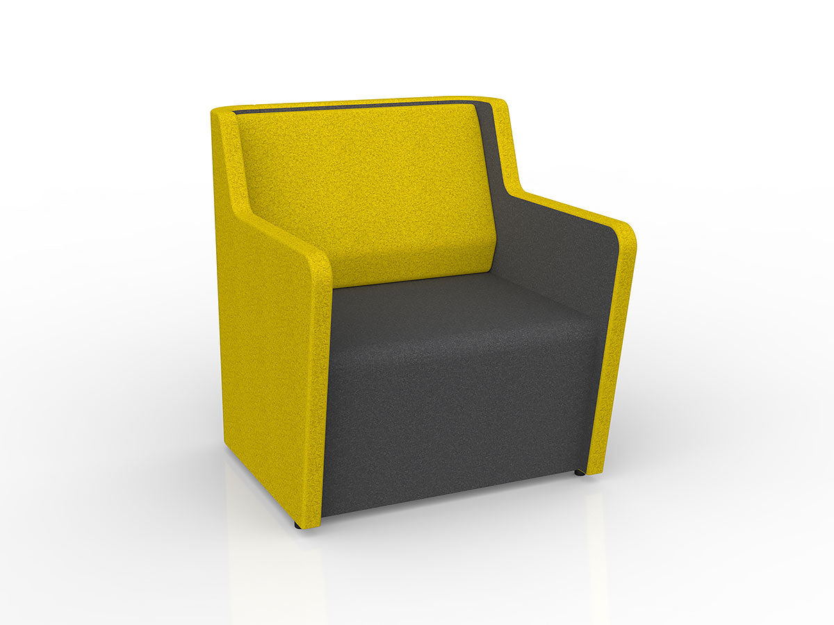 Motion Fin 1 - Workspace Furniture Home and Office Soft Seating and Ottomans