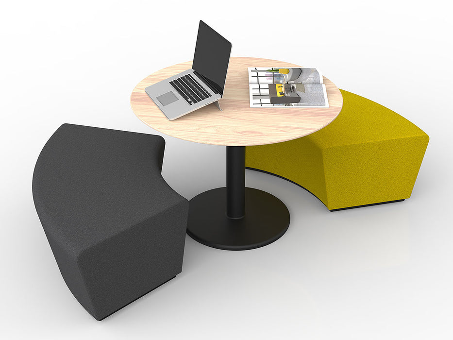 Motion Loop 60 Degree- Workspace Furniture Home and Office Soft Seating and Ottomans