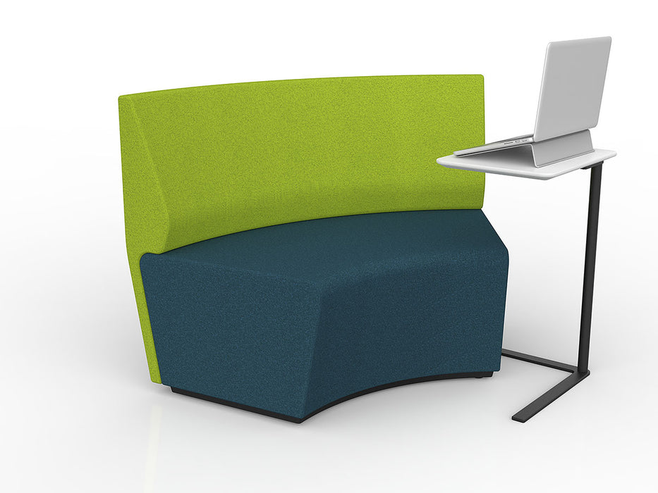 Motion Loop 60 Degree With Backrest - Workspace Furniture Home and Office Soft Seating and Ottomans