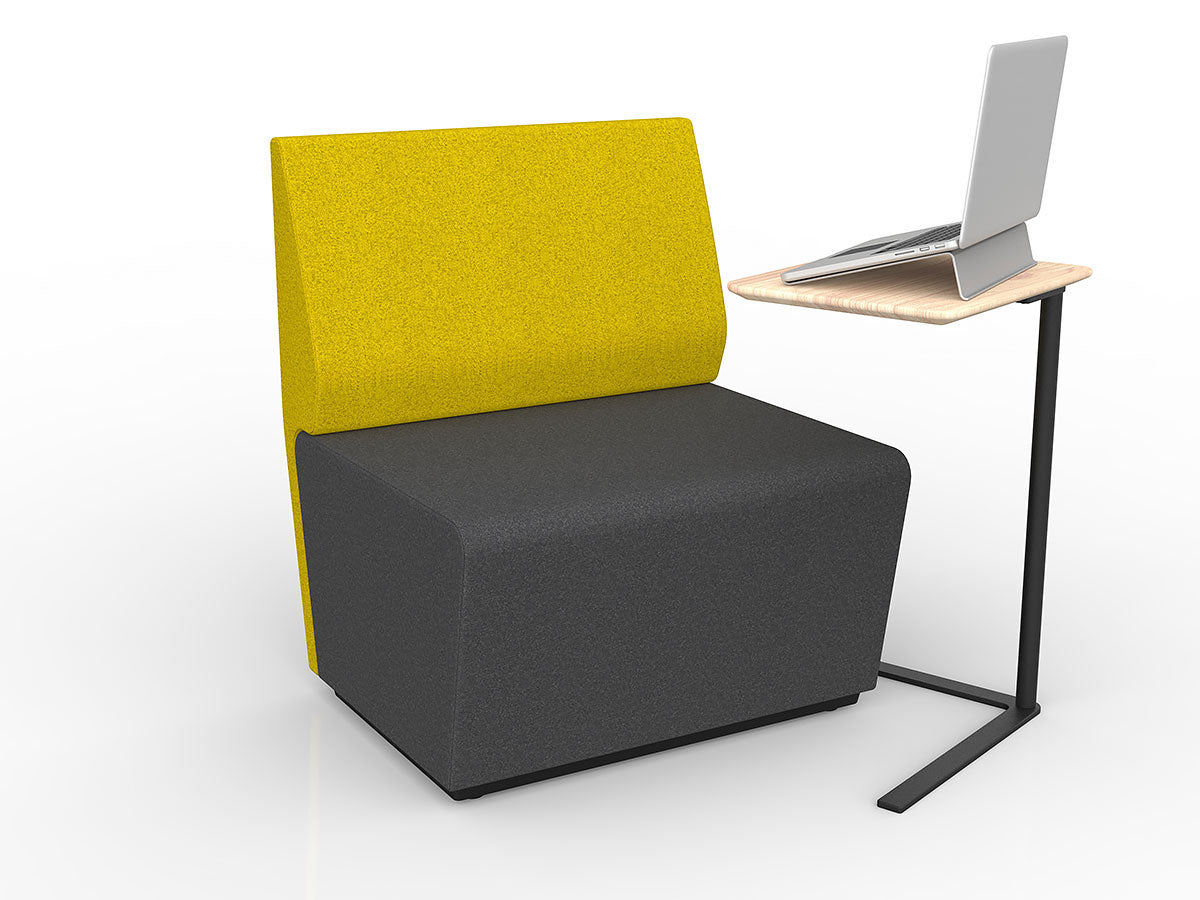 Motion Loop Straight With Backrest- Workspace Furniture Home and Office Soft Seating and Ottomans