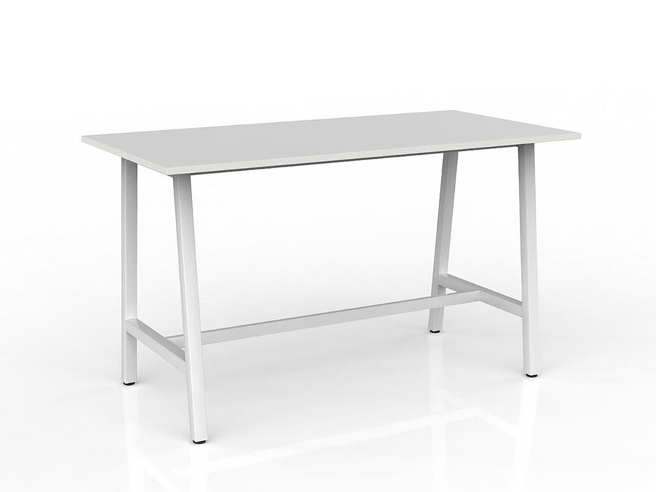 Cubit White 1.8m Bar Leaner - Workspace Furniture Home and Office Cafe Tables