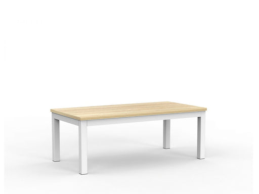 Cubit White 120cm Coffee Table - Workspace Furniture Home and Office Coffee Tables