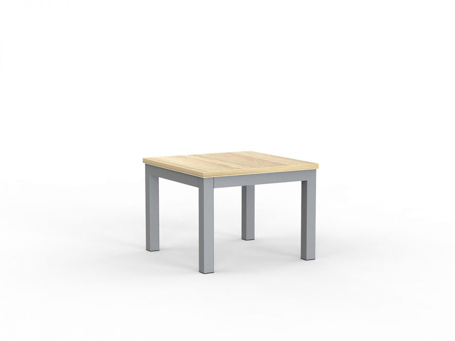 Cubit Silver 60cm Coffee Table - Workspace Furniture Home and Office Coffee Tables