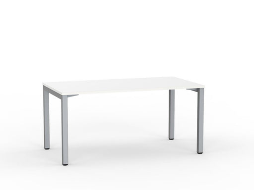 Cubit Silver 1.5m Desk - Workspace Furniture Home and Office Desks