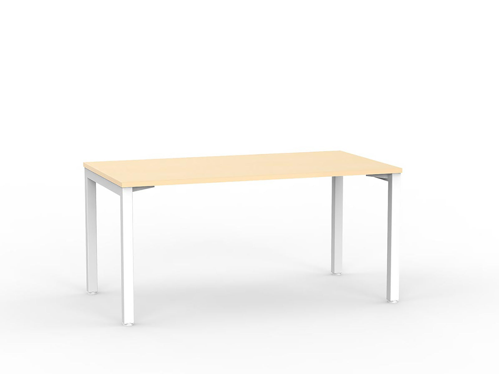 Cubit White 1.5m Desk - Workspace Furniture Home and Office Desks