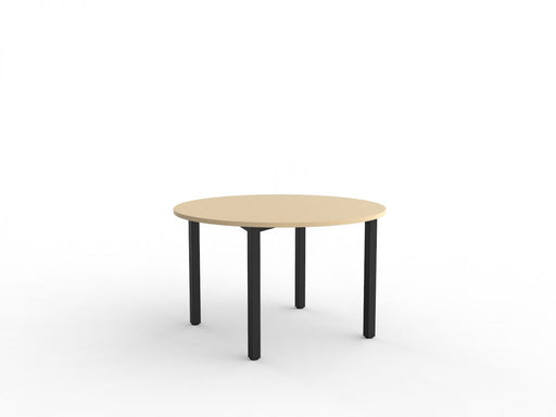 Cubit Black 1.2m Table - Workspace Furniture Home and Office Cafe Tables