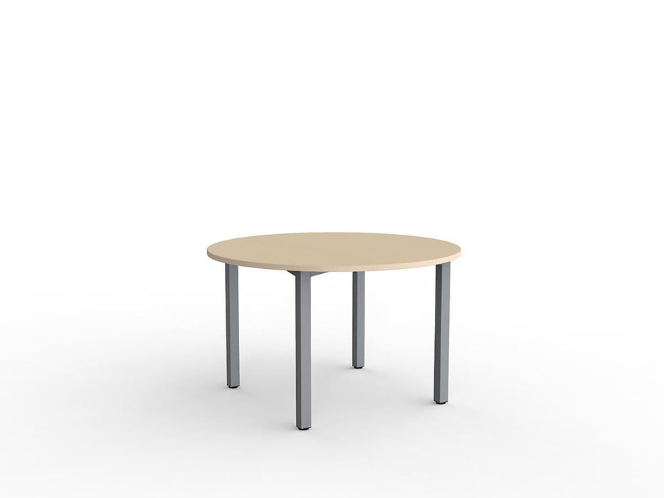 Cubit Silver 1.2m Table - Workspace Furniture Home and Office Cafe Tables