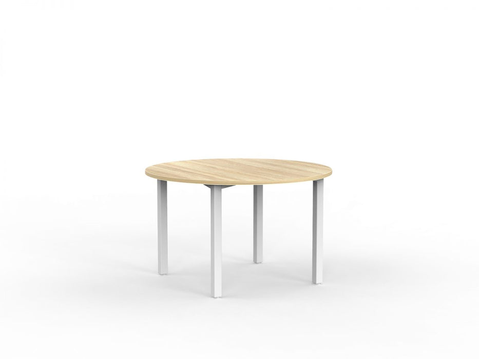 Cubit White 1.2m Table - Workspace Furniture Home and Office Cafe Tables