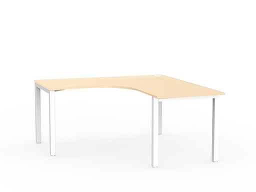 Cubit White 1.5m Workstation - Workspace Furniture Home and Office Desks