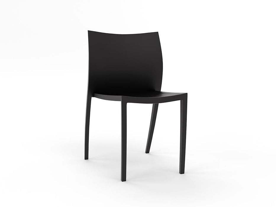Poly Café Stacker - Workspace Furniture Home and Office Cafe Chairs