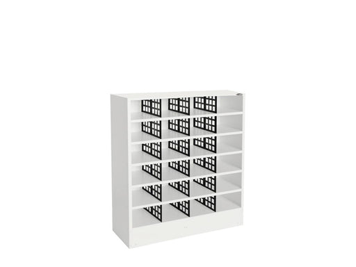 Pigeonhole Cabinet 24 Compartments - Workspace Furniture Home and Office Filing and Steel Storage