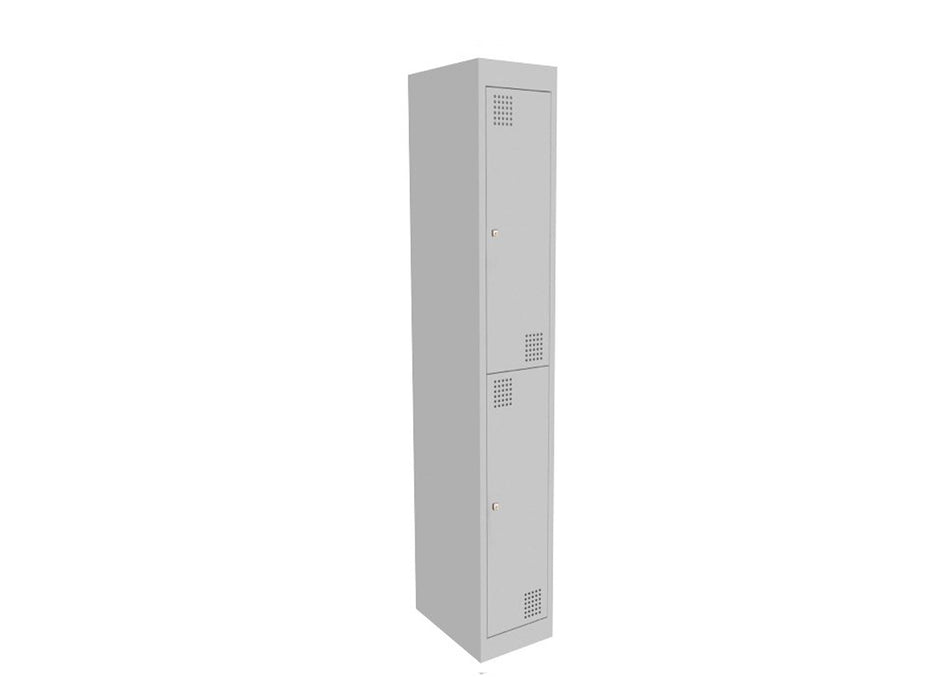 Proceed Steel Locker 2 Door - Workspace Furniture Home and Office Filing and Steel Storage