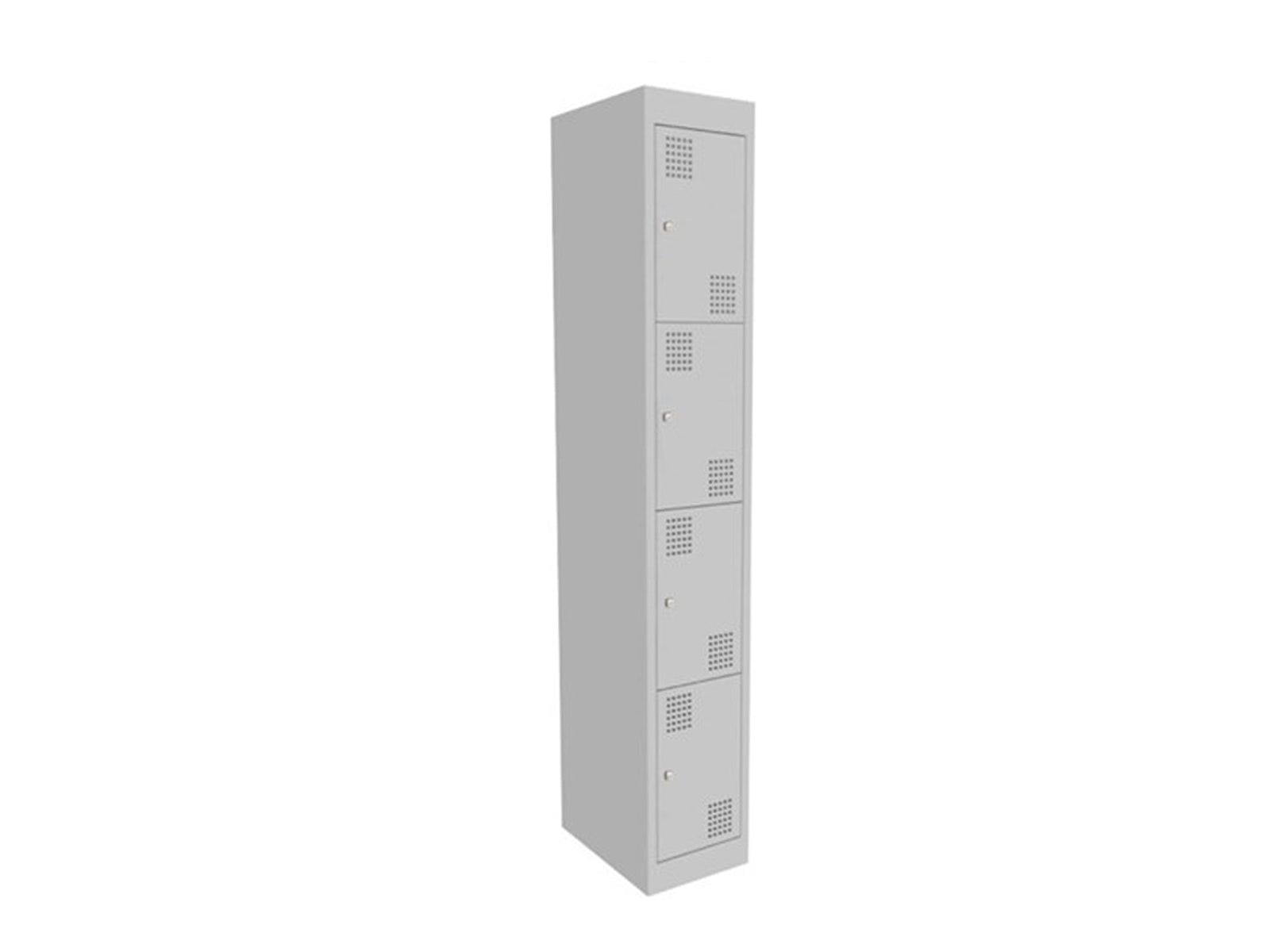Proceed Steel Locker 4 Door - Workspace Furniture Home and Office Filing and Steel Storage