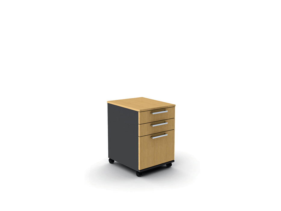 Proceed 3 Draw Mobile - Workspace Furniture Home and Office Drawers