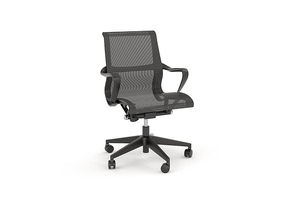 Scroll Mesh Chair - Workspace Furniture Home and Office Chairs