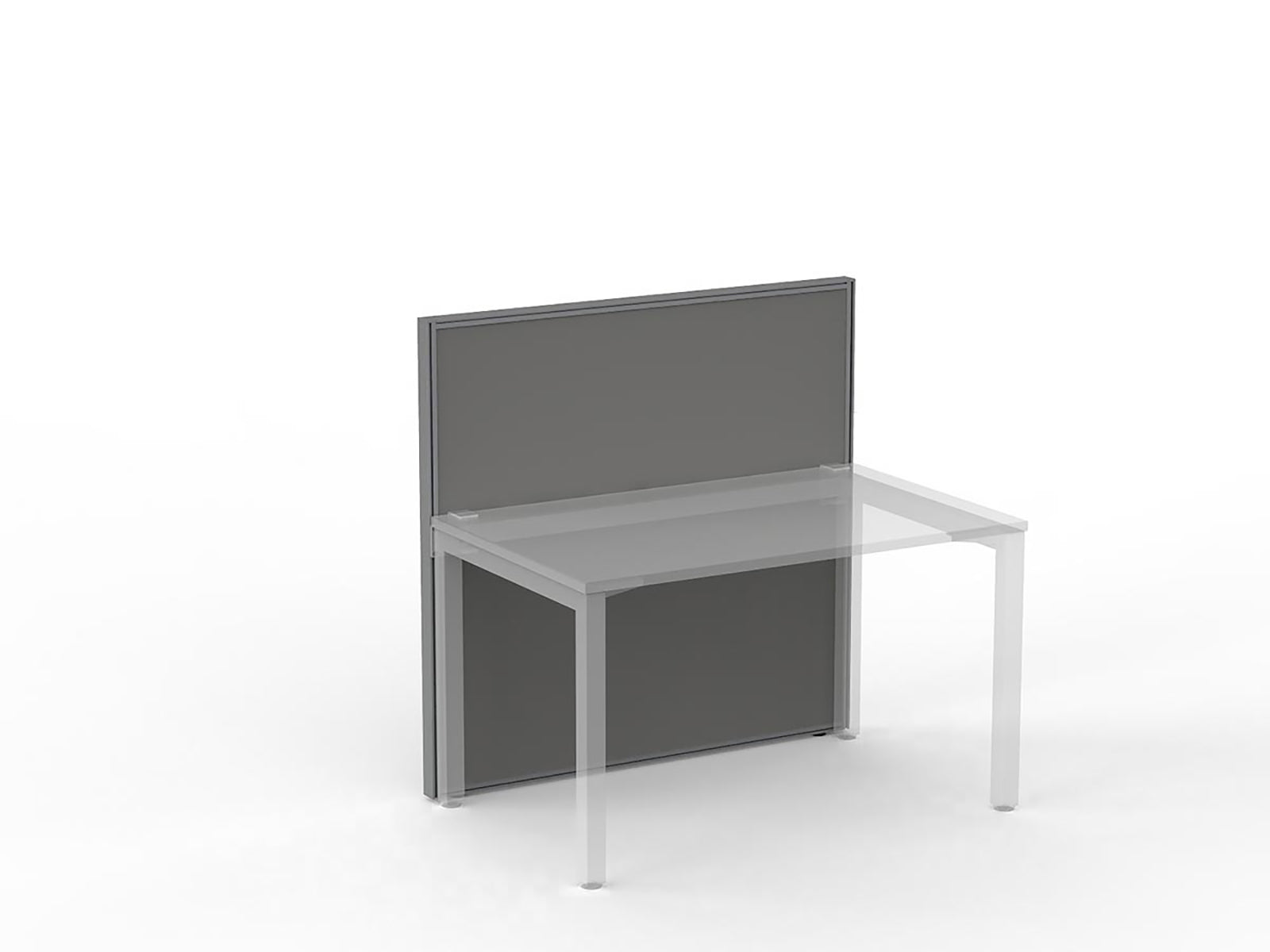 Studio50 Silver Frame Screen 1.2 x 1.2m - Workspace Furniture Office Partition
