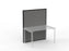 Studio50 Black Frame Screen 1.5 x 1.2m - Workspace Furniture Office Partition