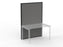 Studio50 Black Frame Screen 1.8 x 1.2m - Workspace Furniture Office Partition