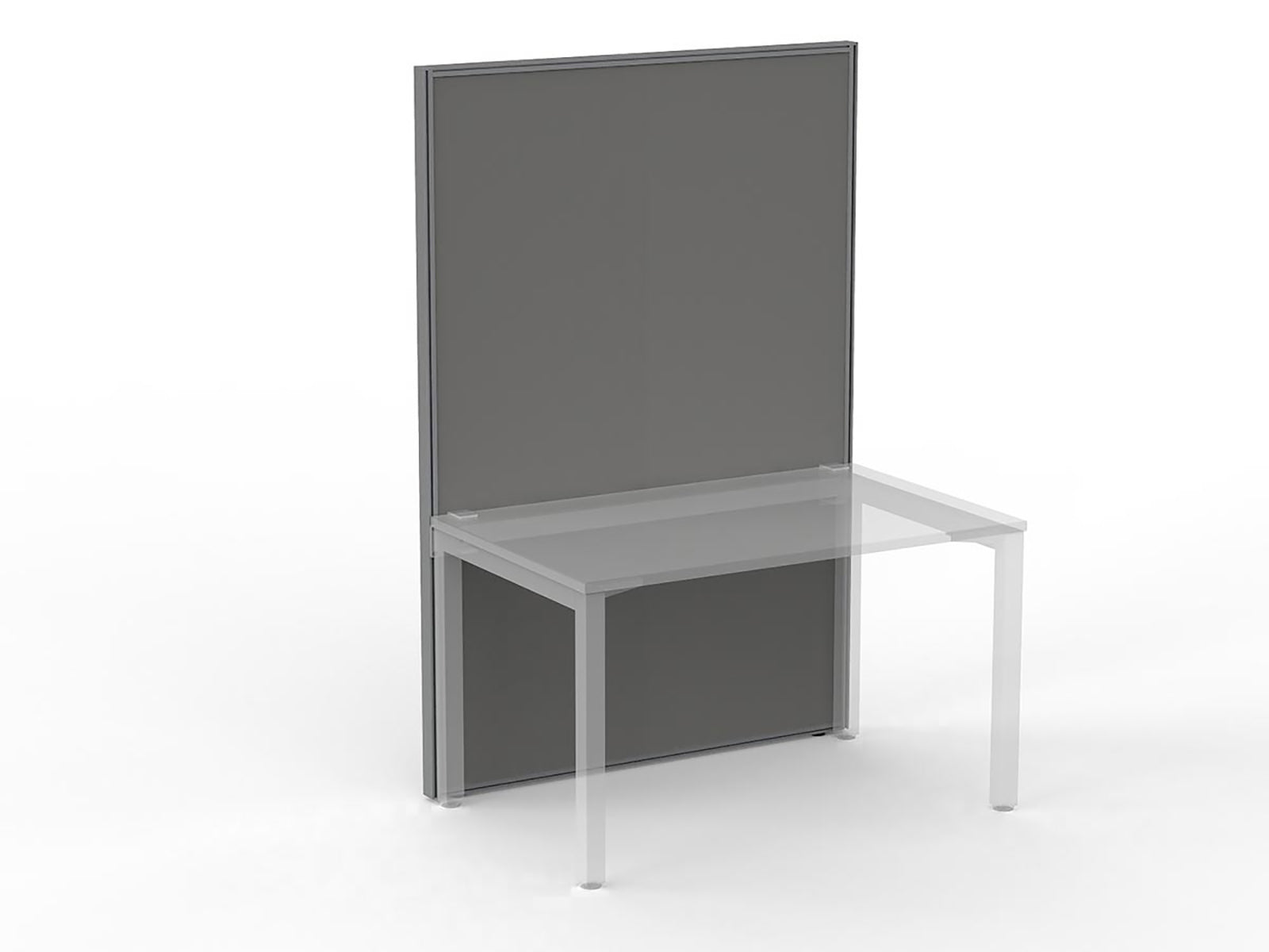 Studio50 White Frame Screen 1.8 x 1.2m - Workspace Furniture Office Partition