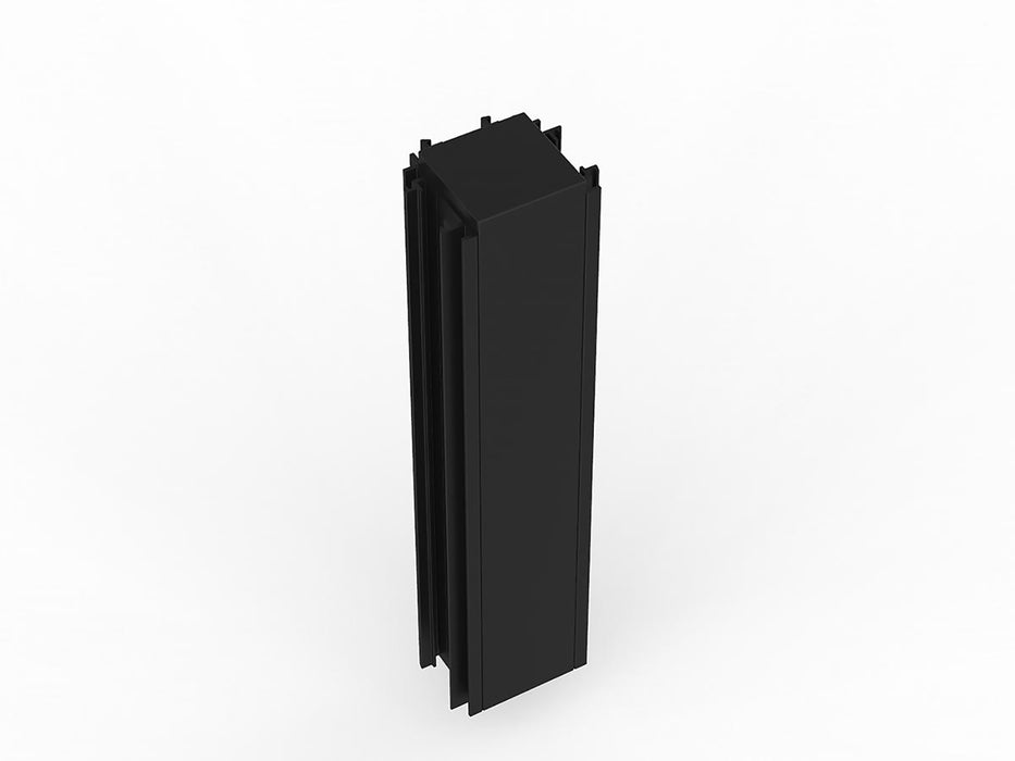 Studio50 Black Frame 3 Way Connector Pole for 1.2m, 1.5m or 1.8m High Screens