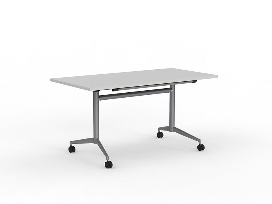 Team 1.4m Flip Table - Workspace Furniture Home and Office Meeting Tables