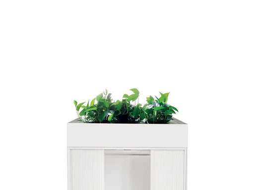 Proceed Tambour Planter 0.9m White - Workspace Furniture Home and Office Tambours and Planters
