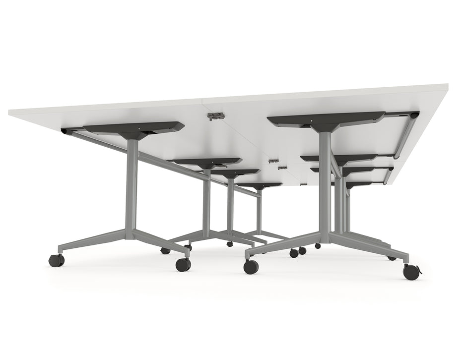 Team 1.8m Flip Table - Workspace Furniture Home and Office Meeting Tables