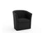 Vortex 1 Seater PU Leather- Workspace Furniture Home and Office Soft Seating and Ottomans